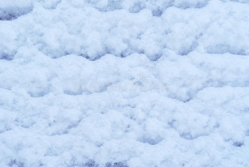 Background, texture - snow surface royalty free stock photography