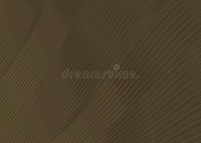 Background texture wave brown color mahogany narrow band. Infinite royalty free illustration