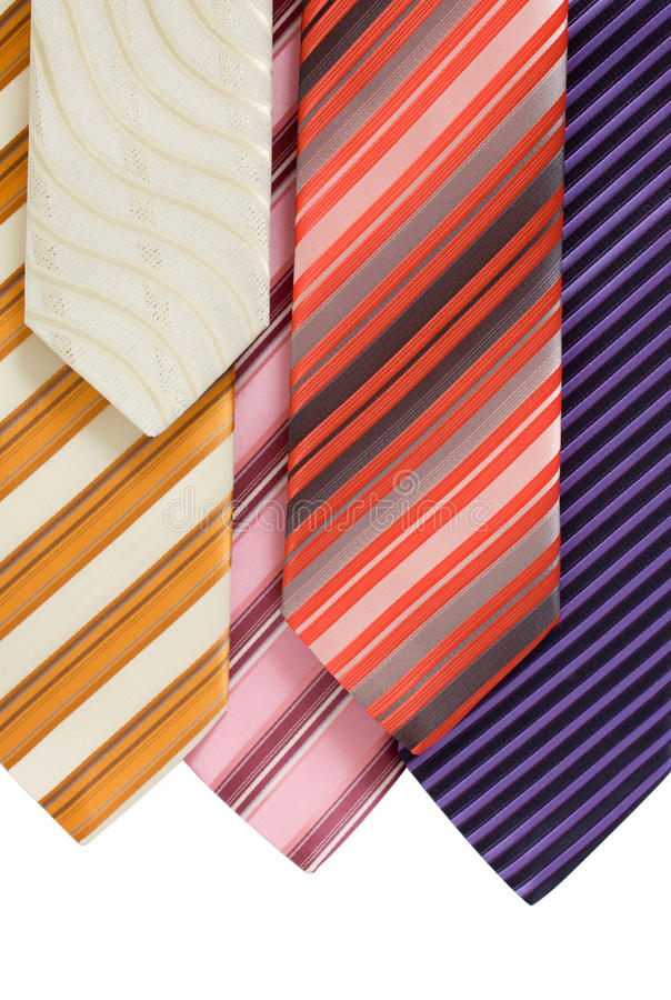Background From Ties Stock Photos