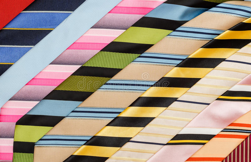 Background of ties royalty free stock image