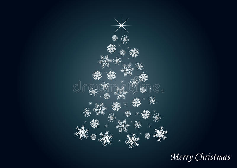 Download Background With Tree Of Snow Stock Vector - Image: 11649601