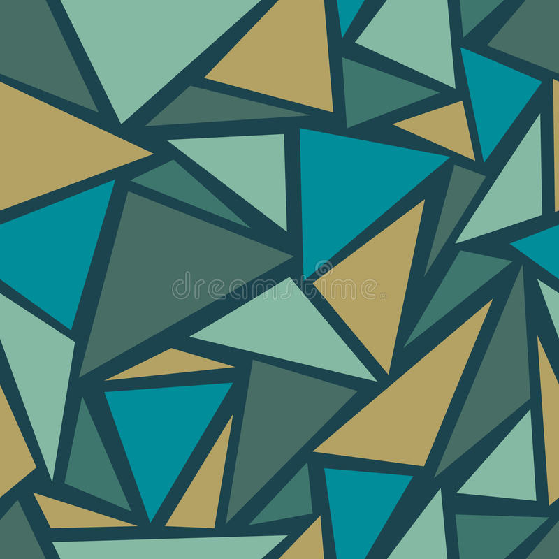 Background with triangles. Abstract geometric seamless pattern. Background with triangles. Vector illustration stock illustration