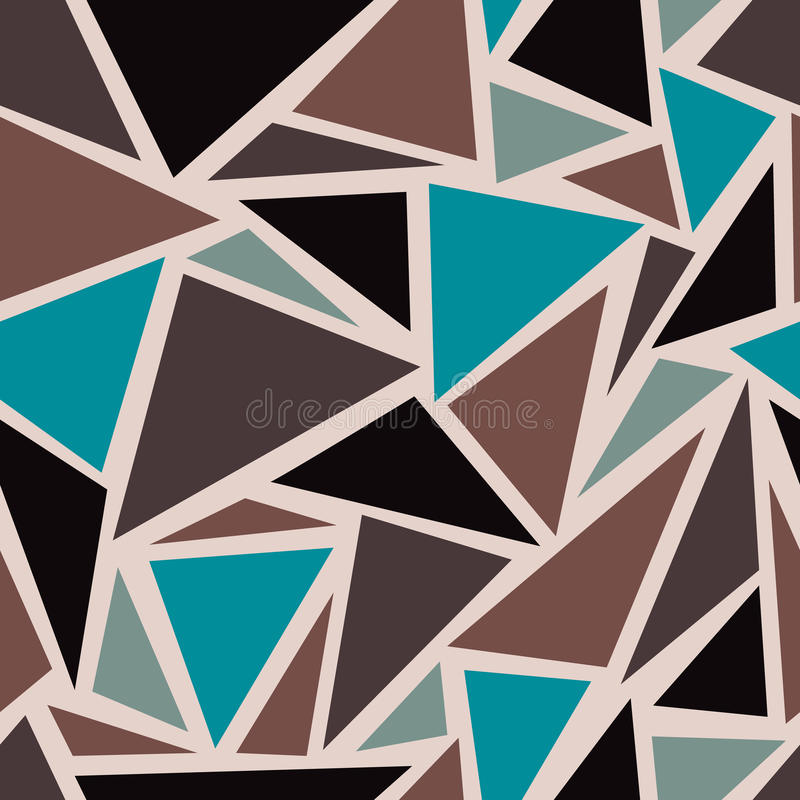 Background with triangles. Abstract geometric seamless pattern. Background with triangles. Vector illustration vector illustration