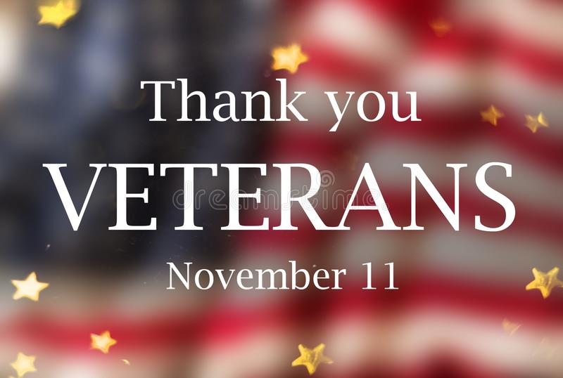 United States Flag. Veterans Day Concept royalty free stock photography