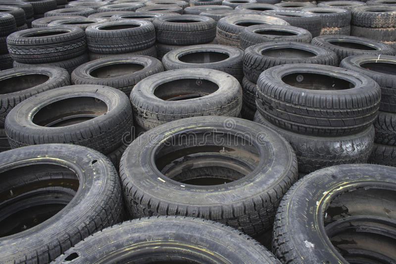 Download Background Of Used Car Tires Stock Photo - Image: 24731144