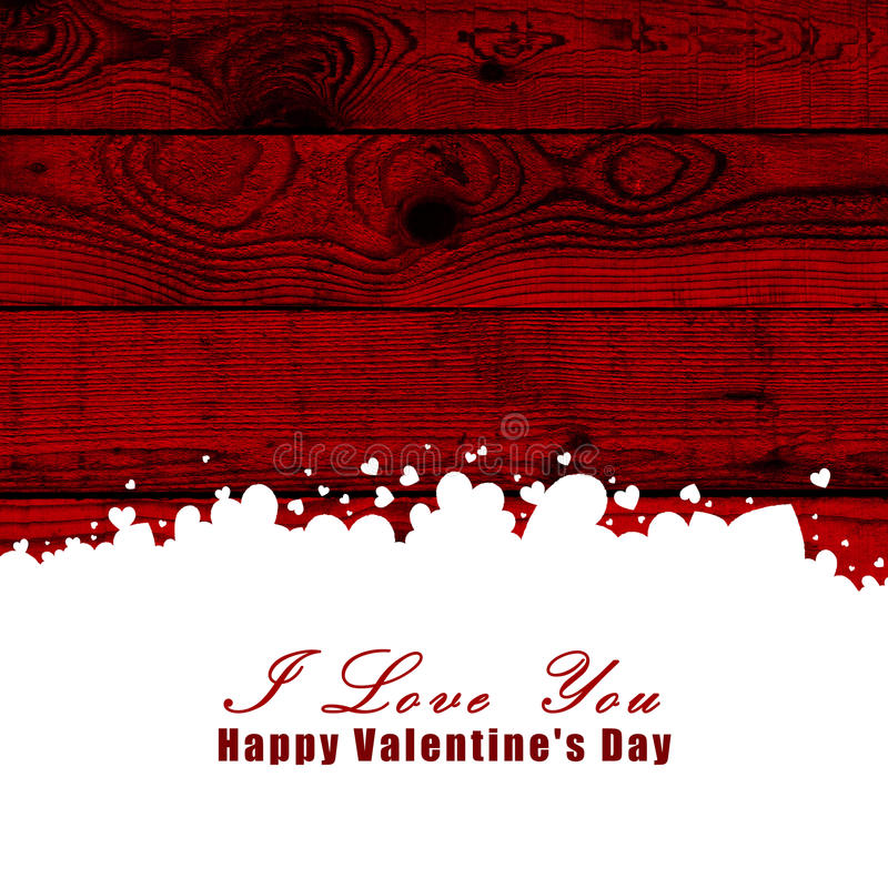 Background for valentine day. Red wooden background for valentine day royalty free stock images
