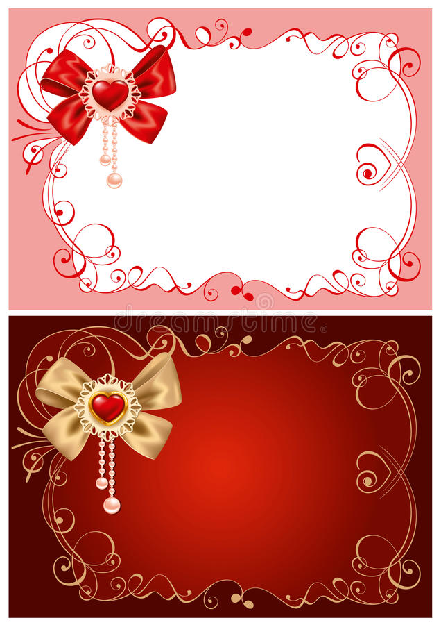 Download Background On Valentines Day Stock Vector - Image: 22868268
