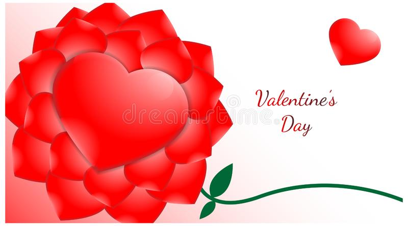 Background valentines day with love symbol. romance theme template vector. design feminime. Background valentines day with love symbol. romance theme template stock illustration