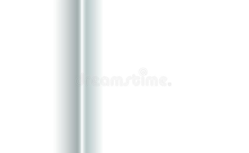 Background vertical fold of white paper fabric. Blank trifold with soft shadows. Copy-space clear template concept for. Presentation and design decorative royalty free illustration