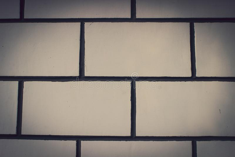 Background - house of white bricks royalty free stock images