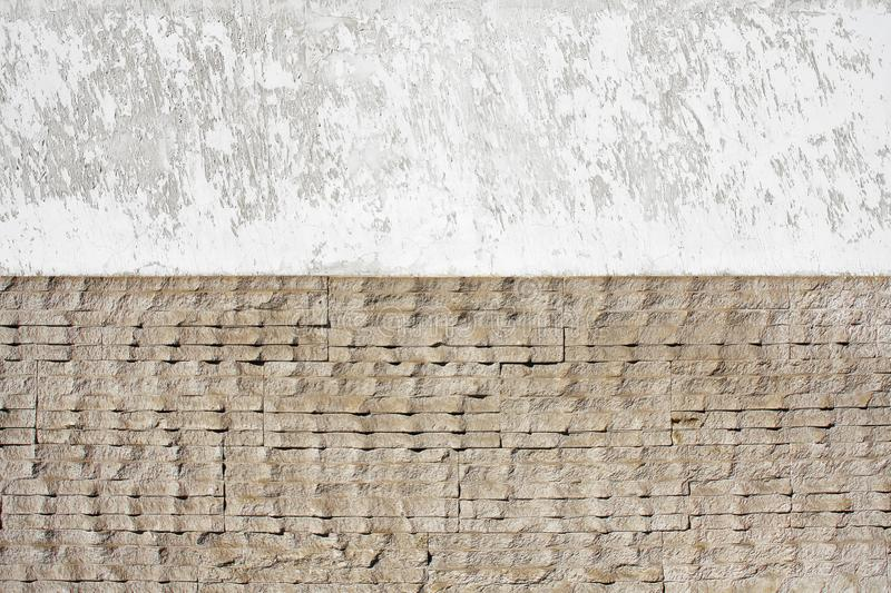 Background wall of natural stone stock images