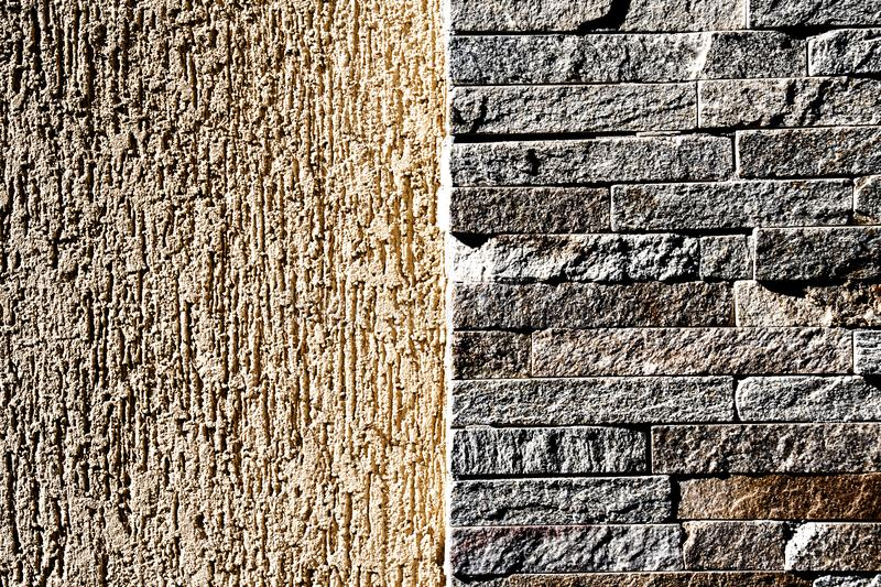 Background wall of natural stone stock photography