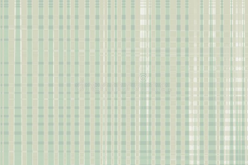 Background wallpaper gingham pattern in fawn and green royalty free stock photo