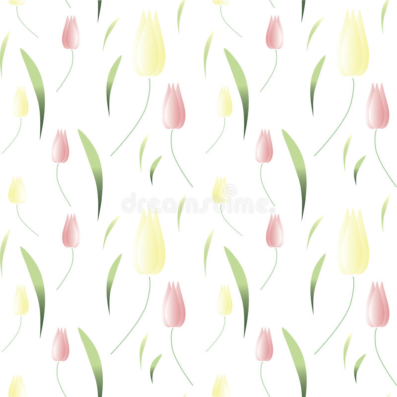 Background wallpaper with spring tulips. vector illustration. Background wallpaper with spring tulips. vector vector illustration