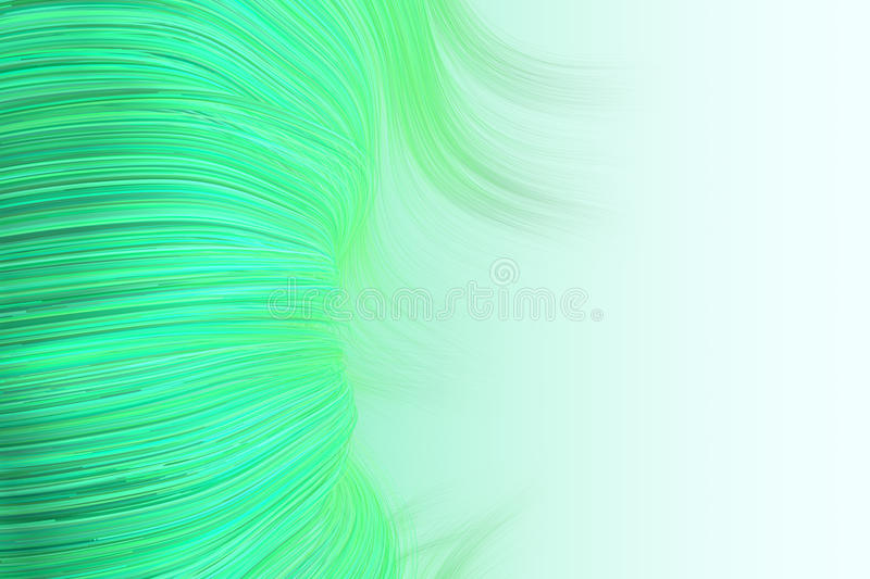 Download Background Of Wavy Lines In Green Stock Illustration - Image: 20925627
