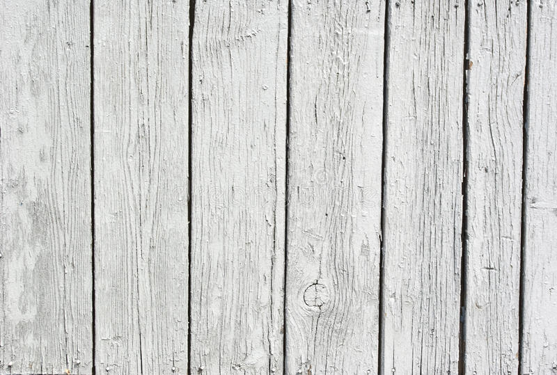 Weathered old white boards stock photos