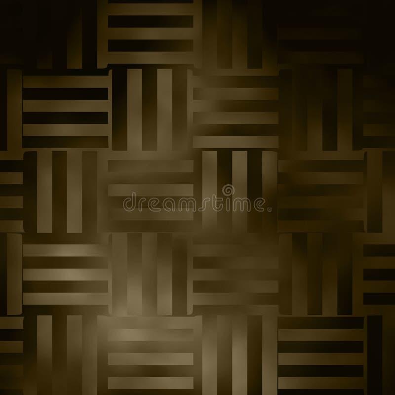 Background weaving design / Sepia tone stock illustration
