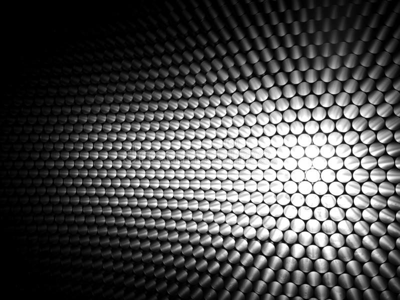 Background with white balls stock image