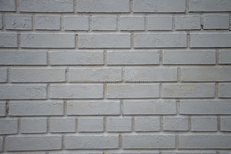 Background white brick wall. Texture stock photo