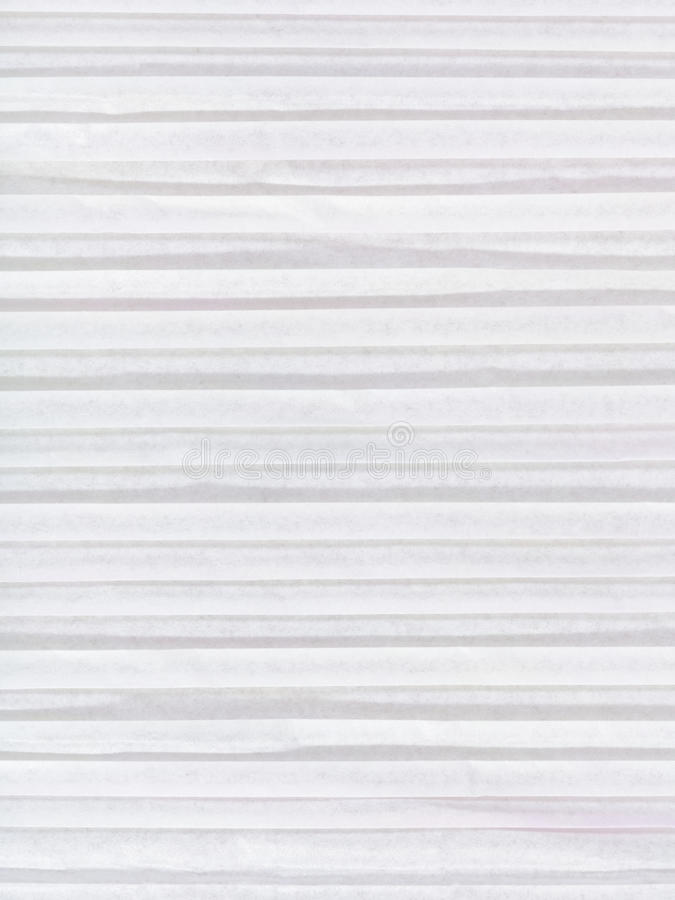 Background from white coloured corrugated paper royalty free stock photography
