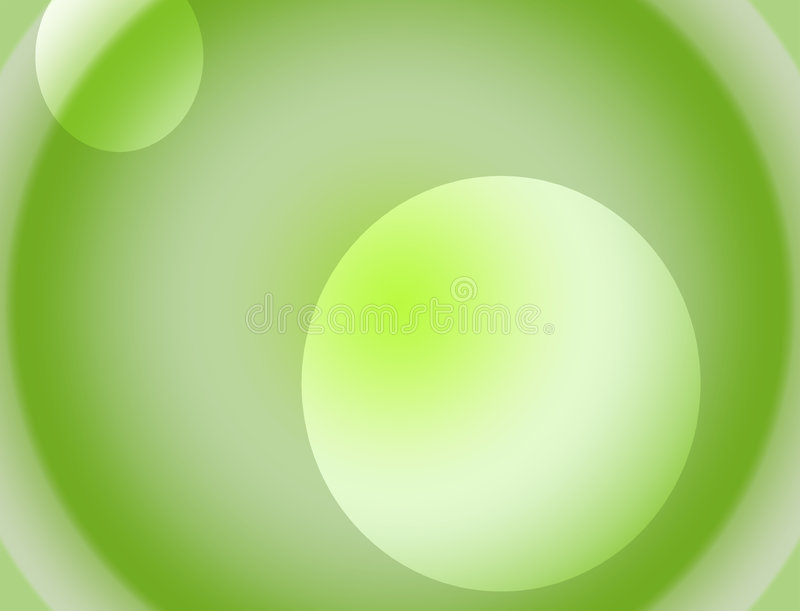 Background white and green gradient stock illustration
