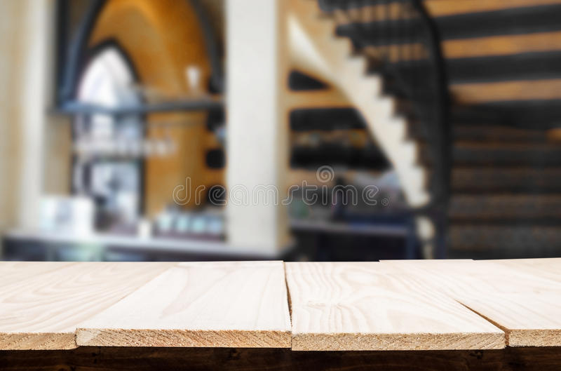 Background of wine bar with free space for your glass of bottle. For product display montage royalty free stock photography