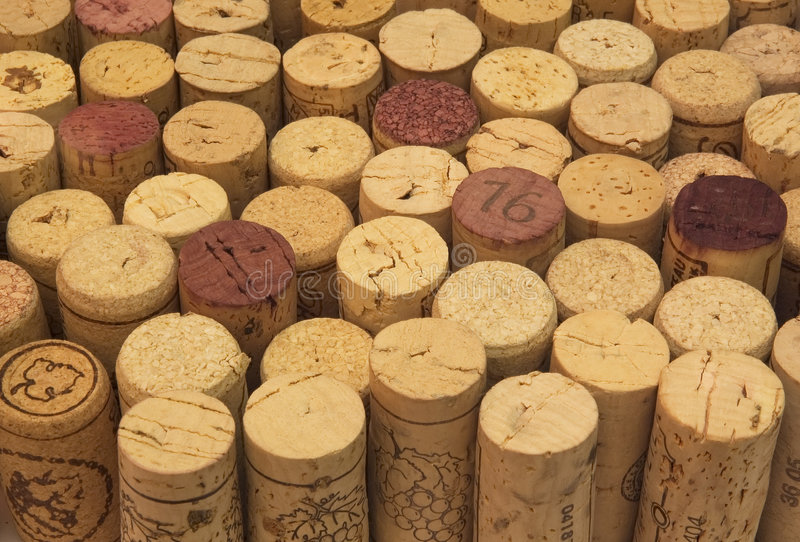 Download Background Of Wine Corks Royalty Free Stock Photos - Image: 522968