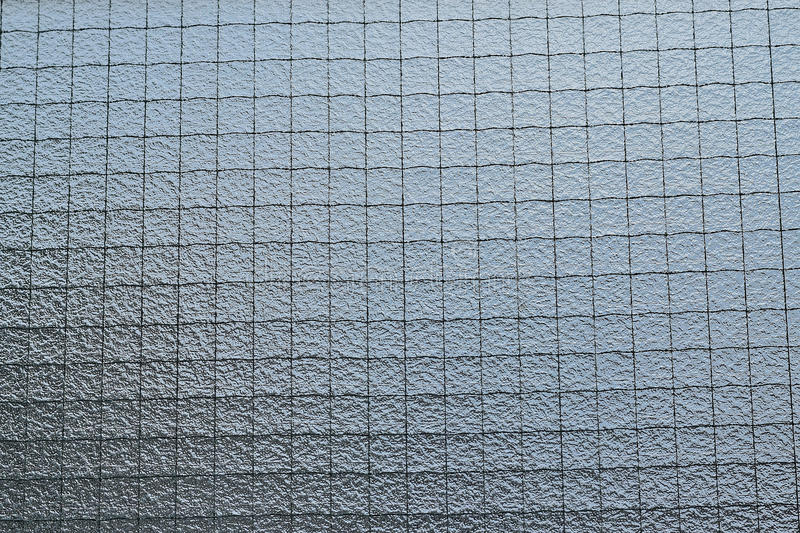 Background of wired window glass royalty free stock image