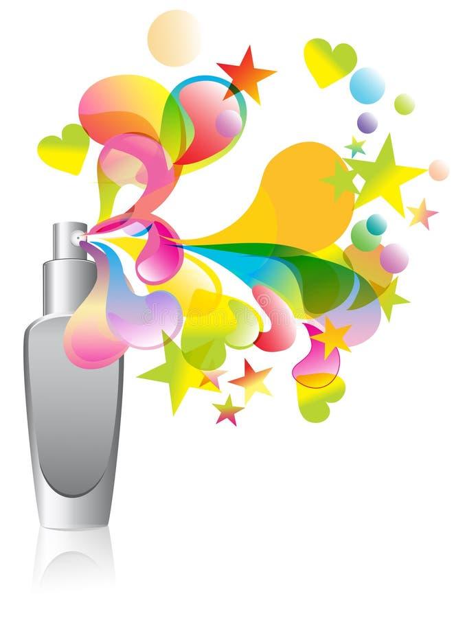 Free Background With Cosmetic Bottle Splash Royalty Free Stock Photos - 22897468