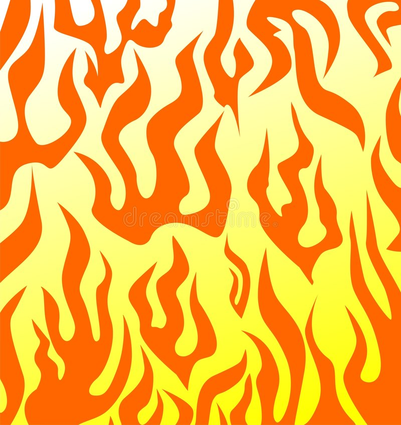 Free Background With Fire Royalty Free Stock Photo - 5845945