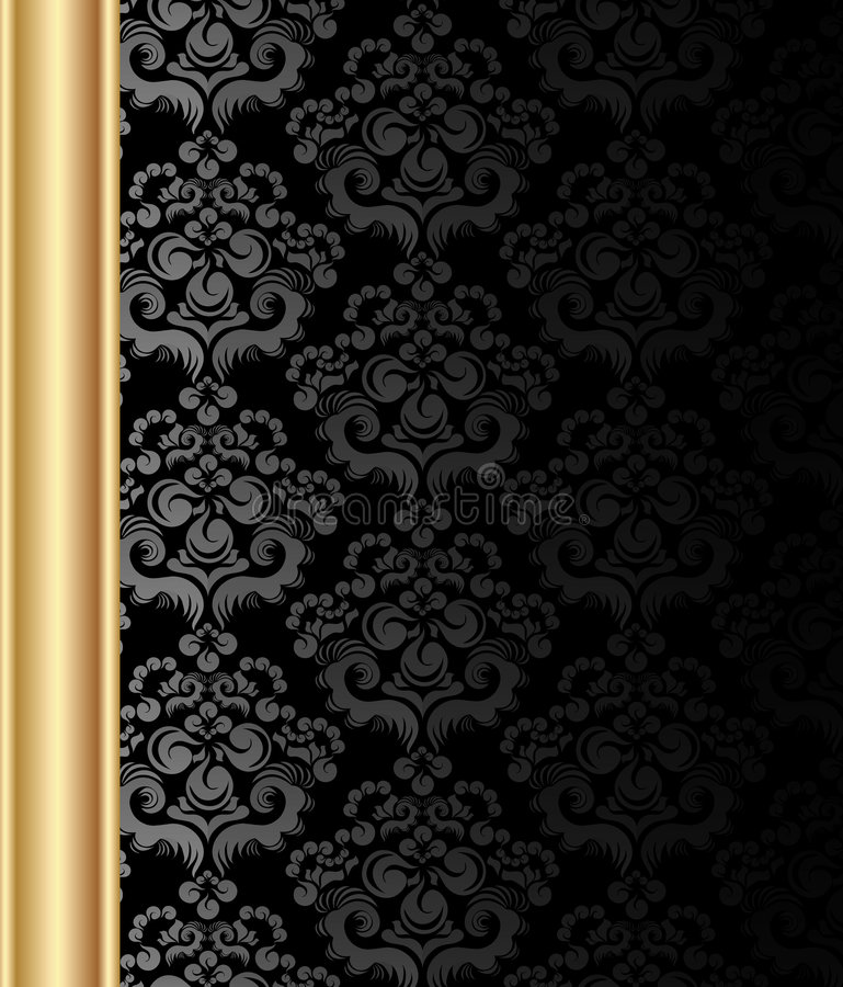 Free Background With Floral Ornament Royalty Free Stock Images - 9160109