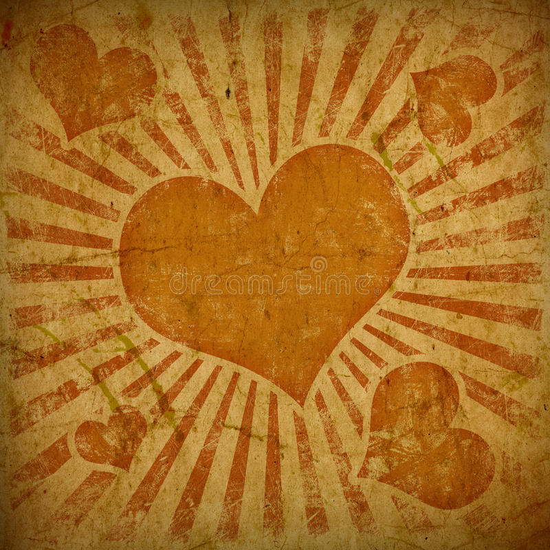 Free Background With Hearts Stock Photo - 23365020