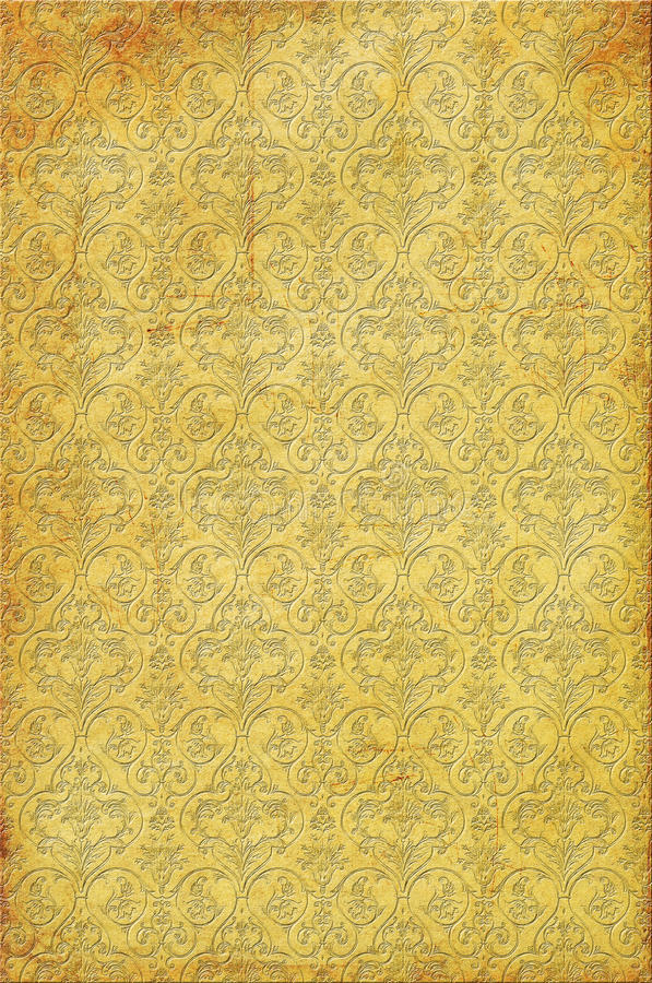 Free Background With Interesting Texture And Ornament Royalty Free Stock Photo - 13745595