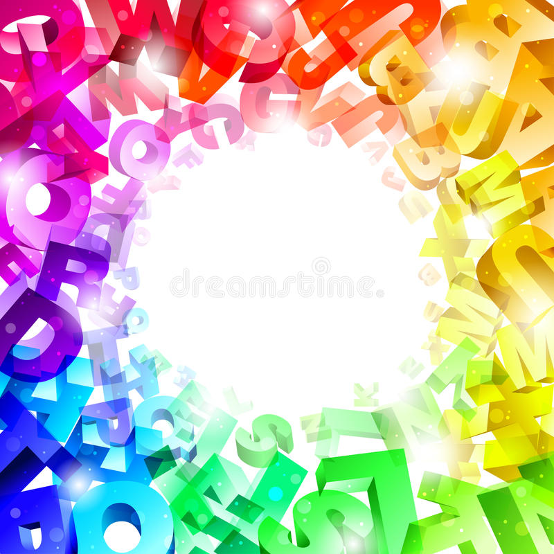 Free Background With Letters Stock Image - 16498311