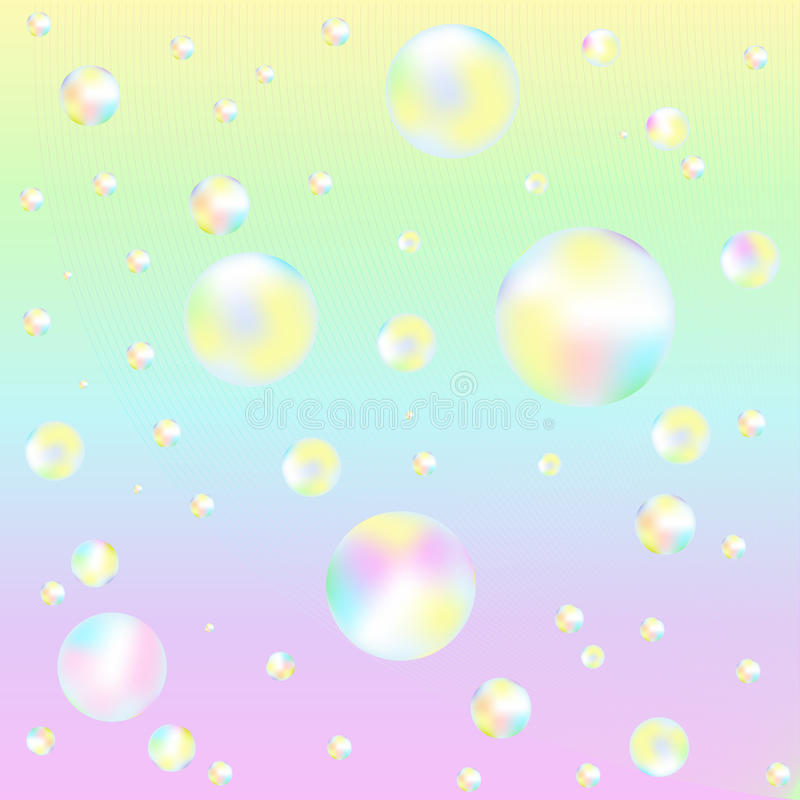 Free Background With Soap Bubbles. Vector Stock Photo - 14176670