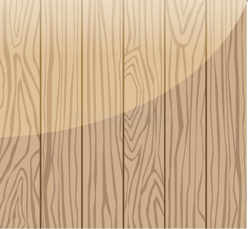 Background of wood grain vector illustration
