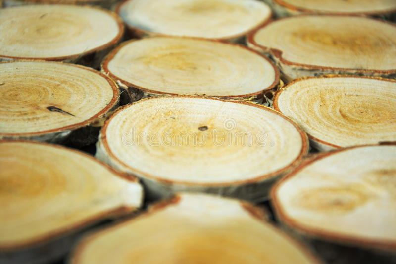 Background with a wood grain texture. Wood cut in pieces there are visible wood grain royalty free stock image