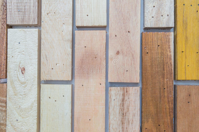 Background wood. Rod Wood wall Wood flap Made of wood Sliver wood core royalty free stock photo