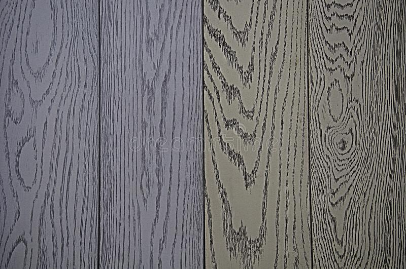 Background of wood texture, painted in gray and blue tint. Textured background royalty free stock photo