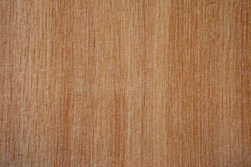 Background wood texture structure is light brown horizontal fibers royalty free stock images