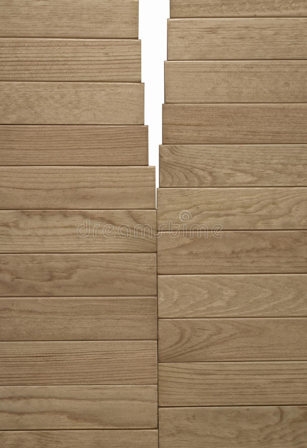 Background from wooden laths. Texture of a tree. royalty free stock photography