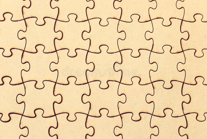 Background of wooden puzzle. Jigsaw abstract blank business challenge complete complexity concept connect connection design empty final game hr idea image royalty free stock photography