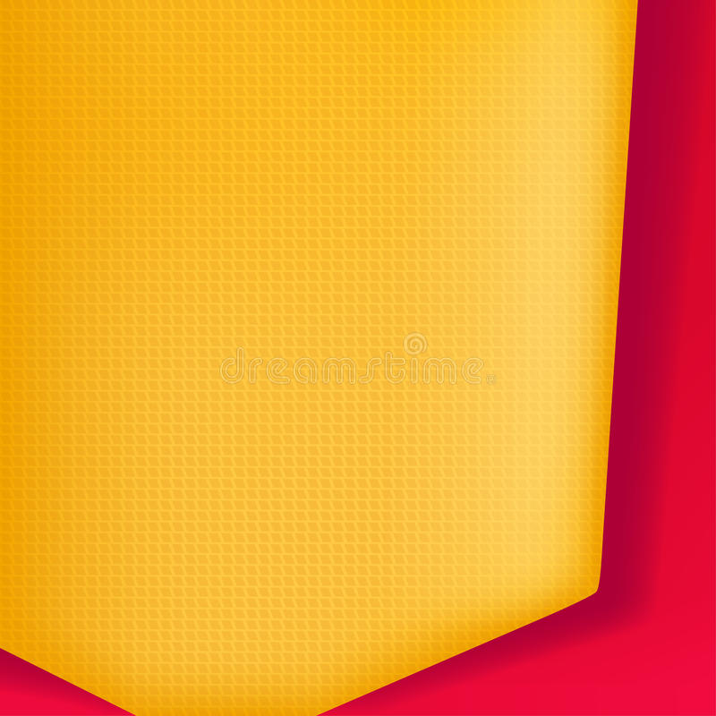 Background with yellow vector illustration