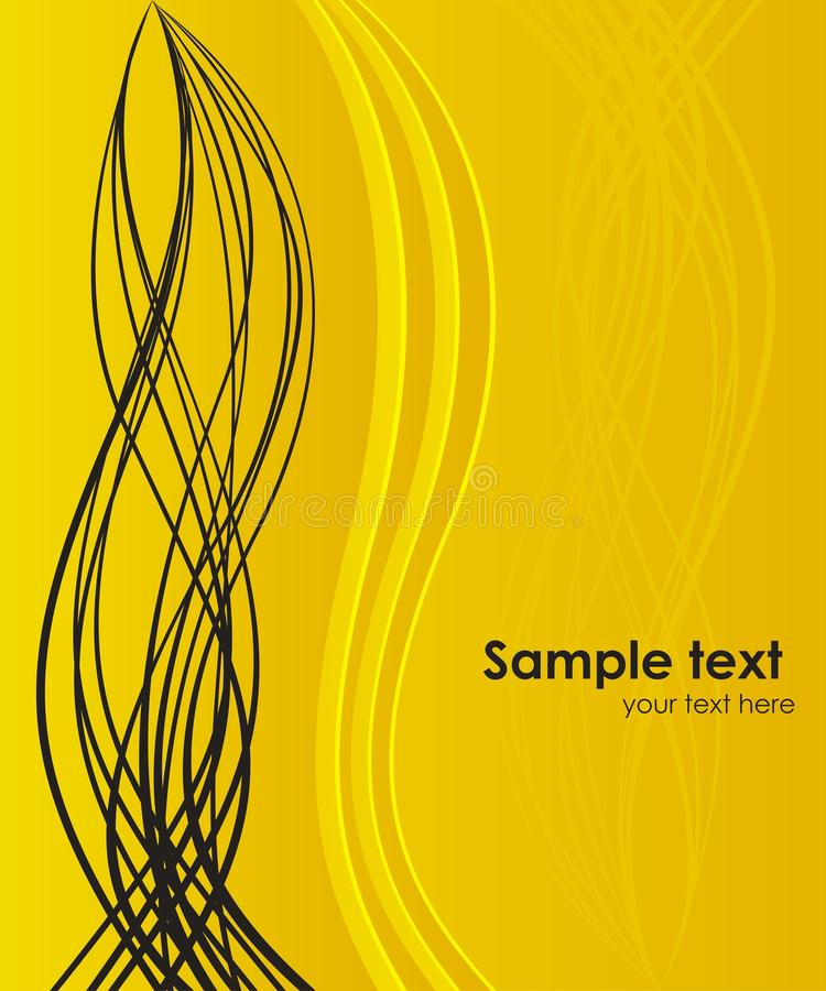 Background for your business artwork. Abstract dynamic vector background with modern lines vector illustration