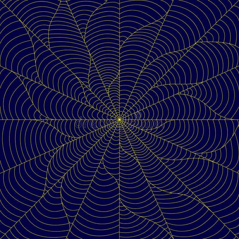 Background in zen style art, zen art pattern, zen tangle, blue a royalty free illustration