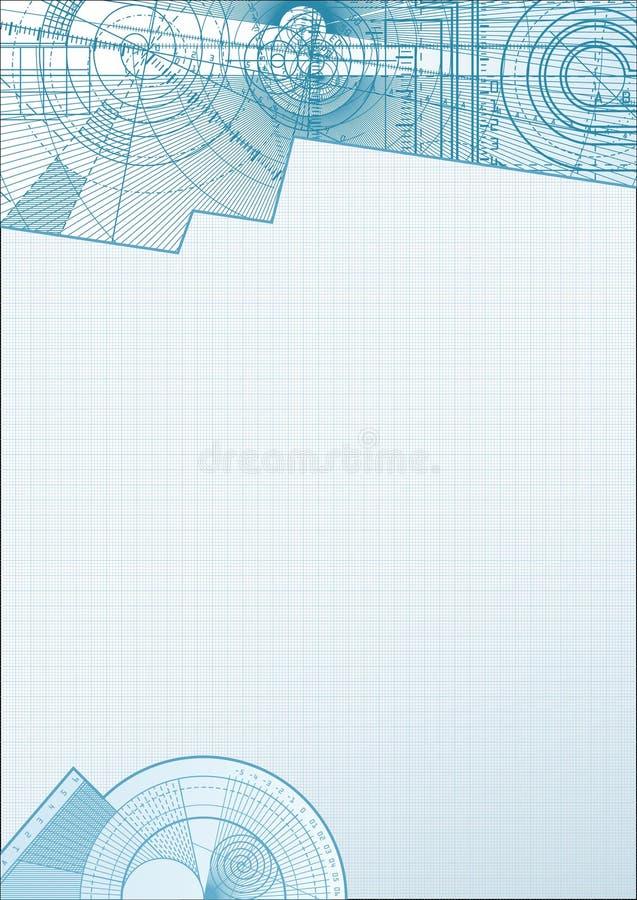 Backgrounda técnico ilustração stock