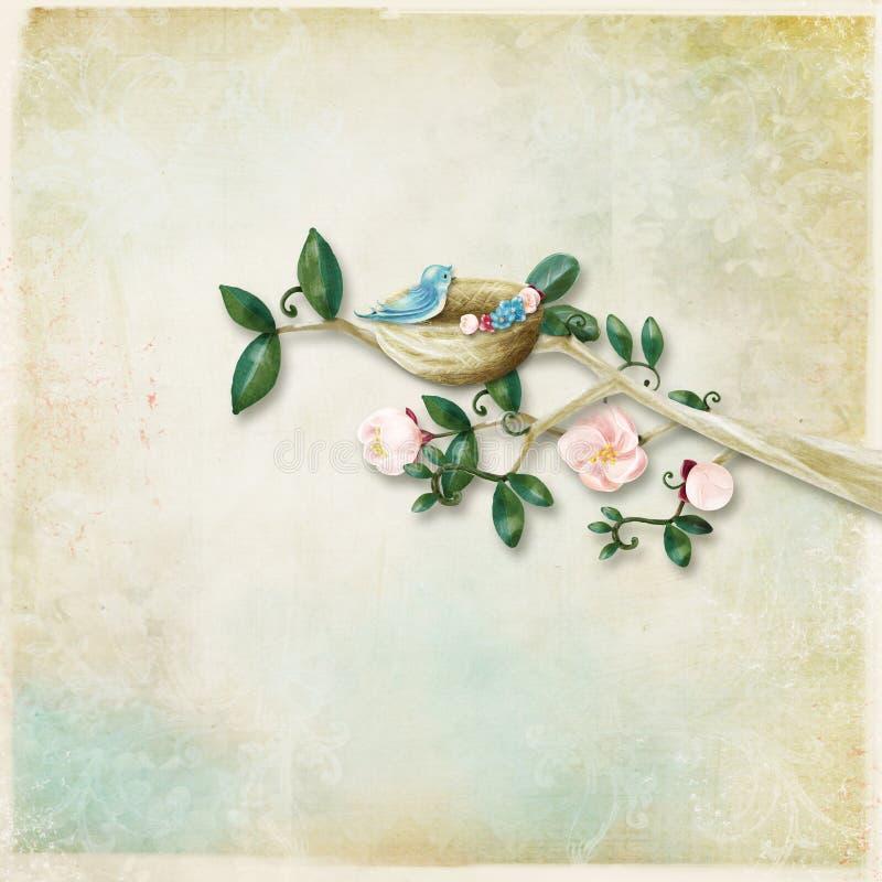Backgroundb Textured con la ilustración imagen de archivo libre de regalías
