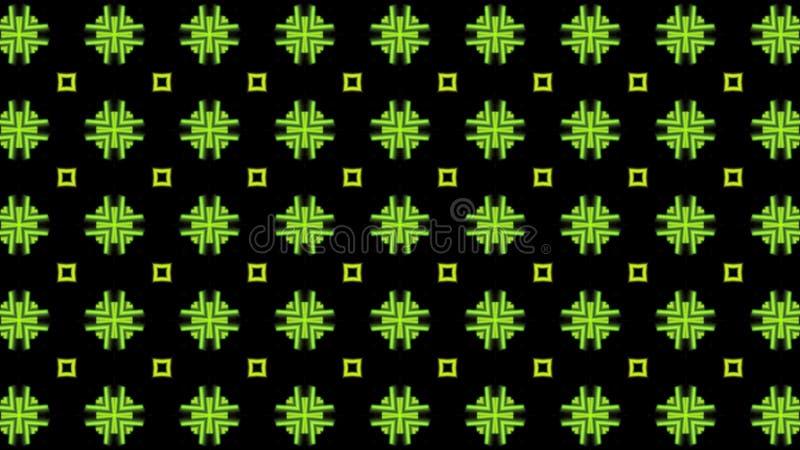 Backgroundd verde y oscuro del modelo stock de ilustración