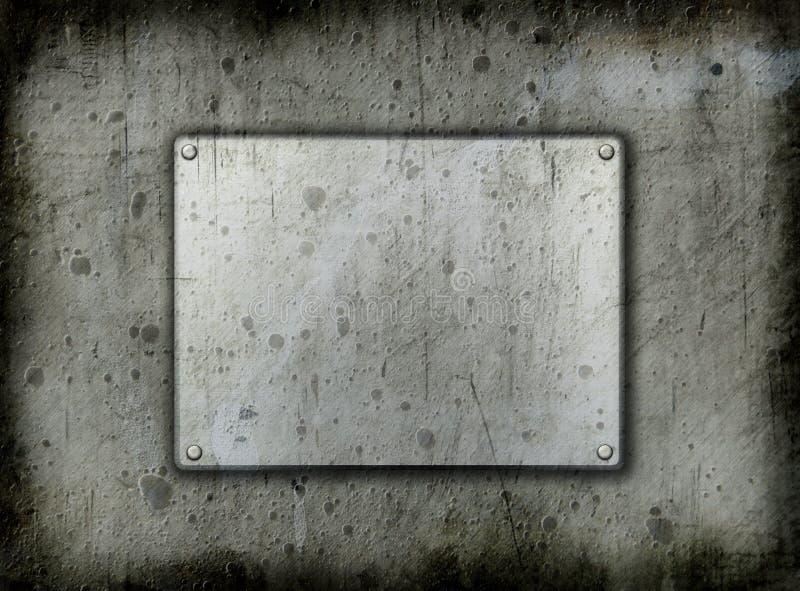 Backgrounddd do metal de Grunge fotos de stock royalty free