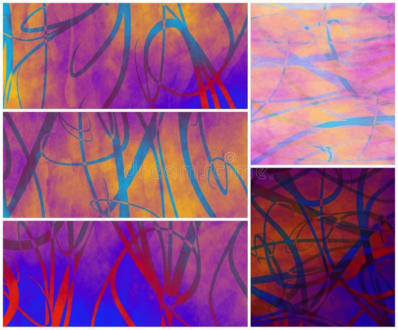 Backgrounds royalty free illustration